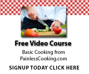 online cooking videos