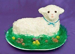 Lamb cake is a Polish easter recipe
