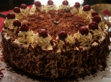 chocolate layer cak