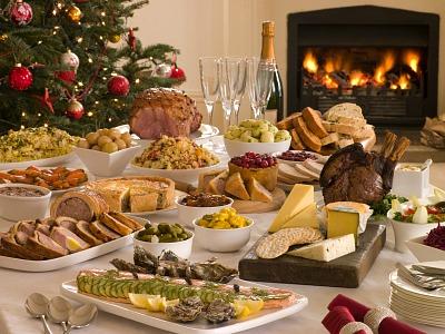 how to make christmas buffet recipes