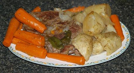 pot roast dinner