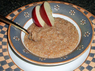 Seven Grain Cereal Flavored with Cinnamon and Sorghum Molasses