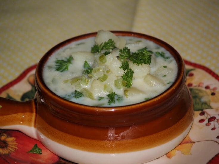Basic Potato Soup Recipe