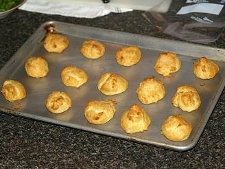 fresh baked puffs