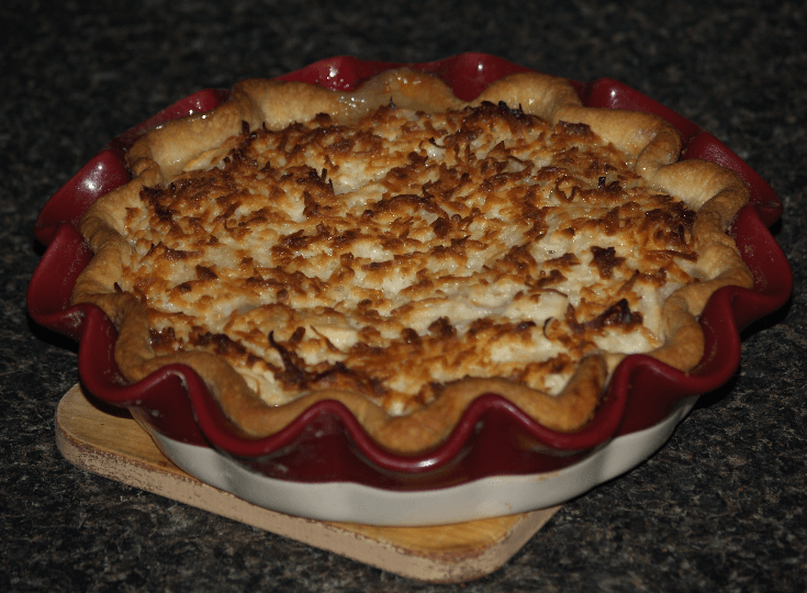 Apple Macaroon Pie Recipe