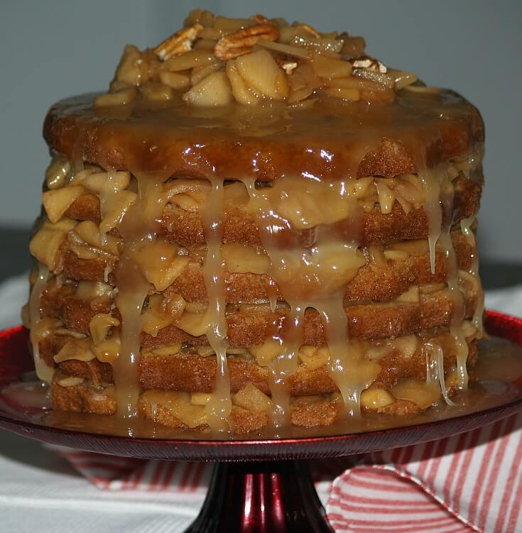 How to Make an Apple Stack Cake