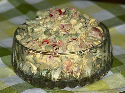 Asparagus Egg Salad Recipe