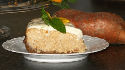 baked sweet potato cheesecake recipe