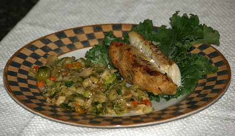 How to Cook Fish like this Baked Cod Recipe with Stuffing