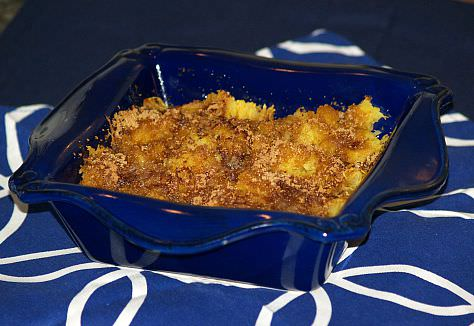 Baked Spaghetti Squash with a Sweet Topping