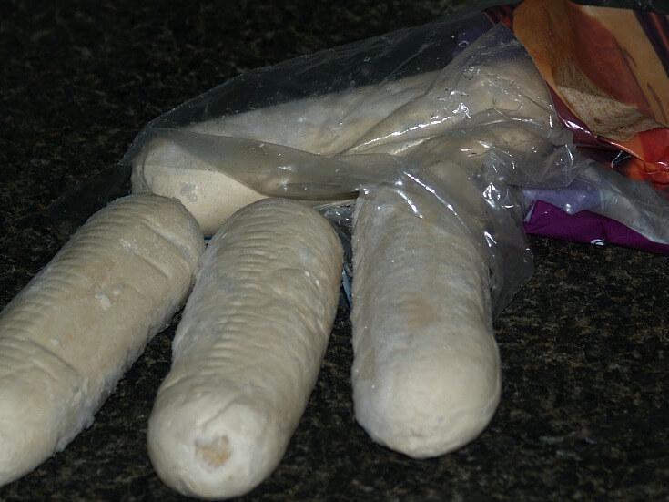 Baking with Frozen Bread Dough