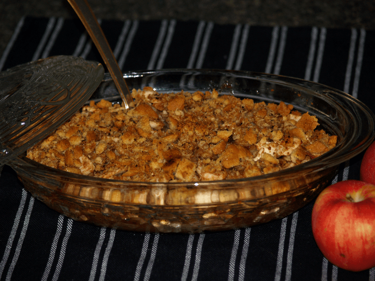 Banana Apple Betty Recipe