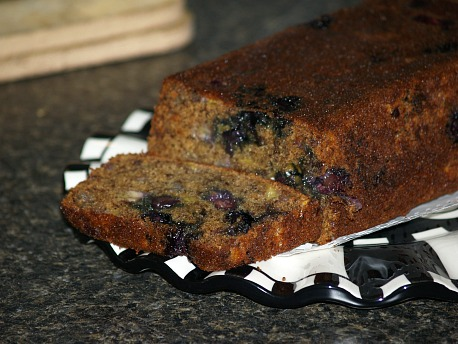 Banana Blueberry Quick Bread Recipe
