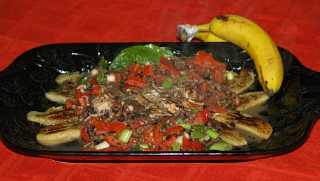 Banana Chicken Entree Recipe