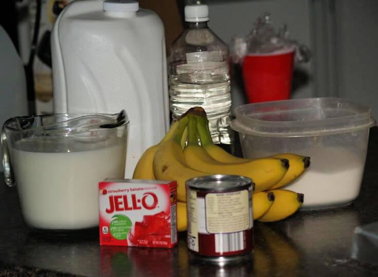 No Cook Banana Ice Cream Recipe Ingredients