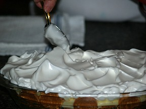 Gently Spreading Meringue