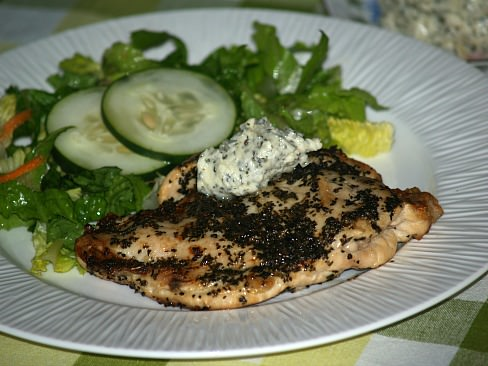 Basil Grilled Chicken Recipe