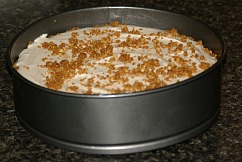 bavarian cinnamon cheesecake