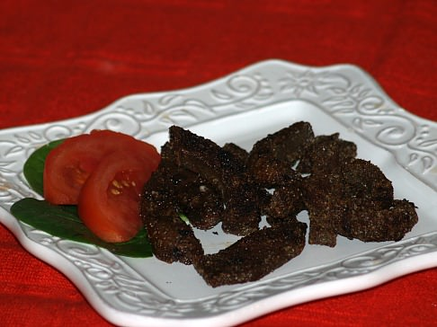 Deep fried Beef Liver