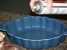 Preparing Casserole Dish