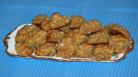 Bisquick Sausage Meatballs