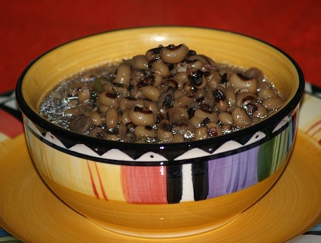 Black Eyed Peas Cooked