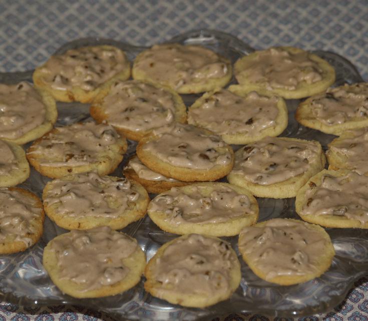 Black Walnut Butter Wafers
