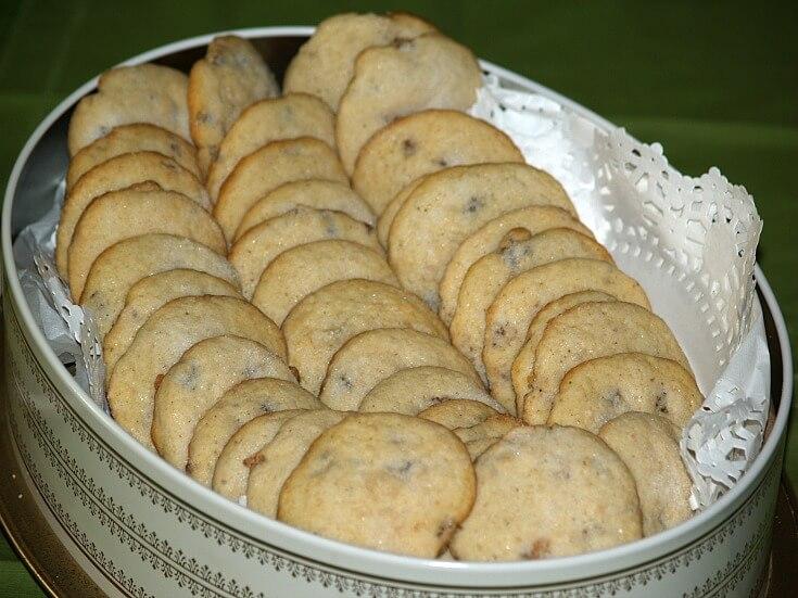 Black Walnut Sugar Cookie