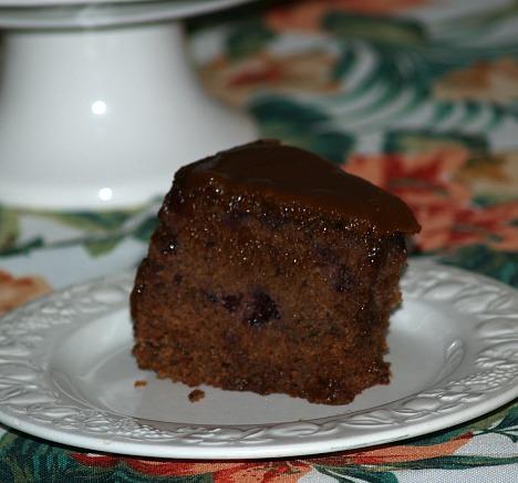 Blackberry Jam Cake for a Crowd