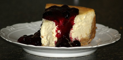 how to make blueberry cheesecake recipe