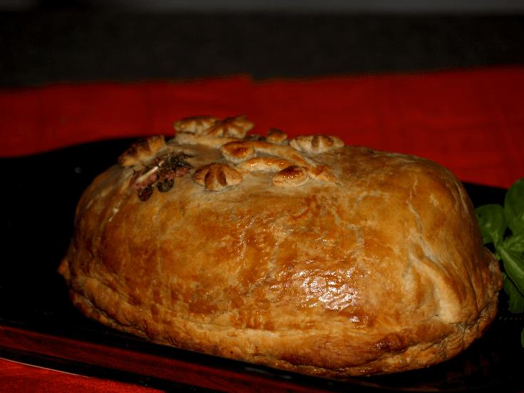 Baked Boeuf En Croute