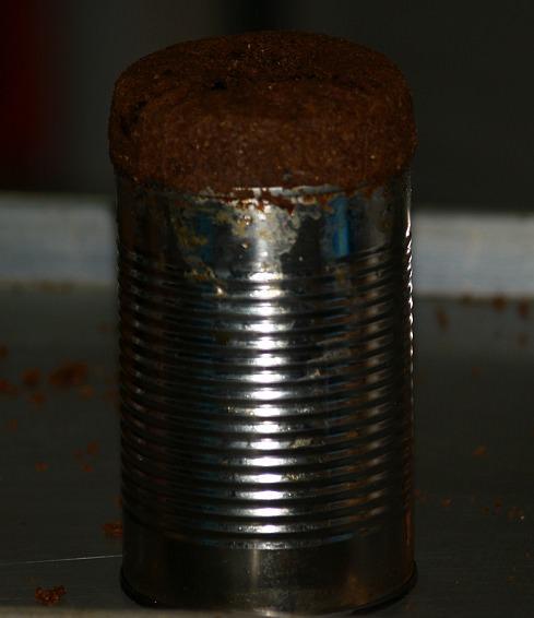 Boston Brown Bread Prepared in a Tin Can