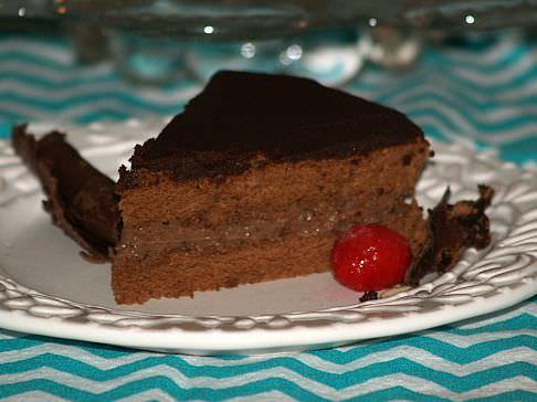 Chocolate Boston Cream Pie Recipe