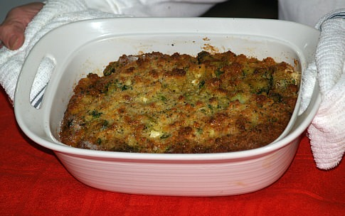 Broccoli Cornbread Casserole Recipe
