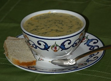 how to make a broccoli soup recipe