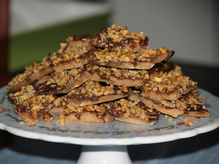 English Butter Toffee Recipe