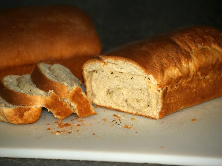 Butterflake Herb Bread Recipe