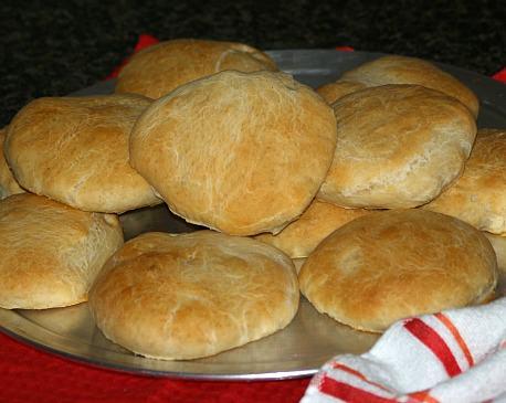 Buttery Hamburger Buns