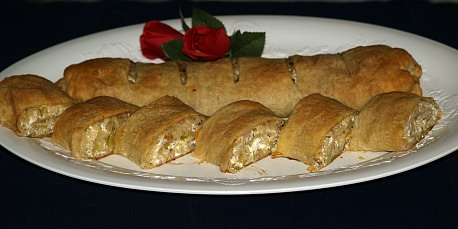 Cabbage Ham Strudel Recipe