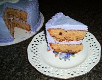 Piece of Black Walnut Cake Recipe