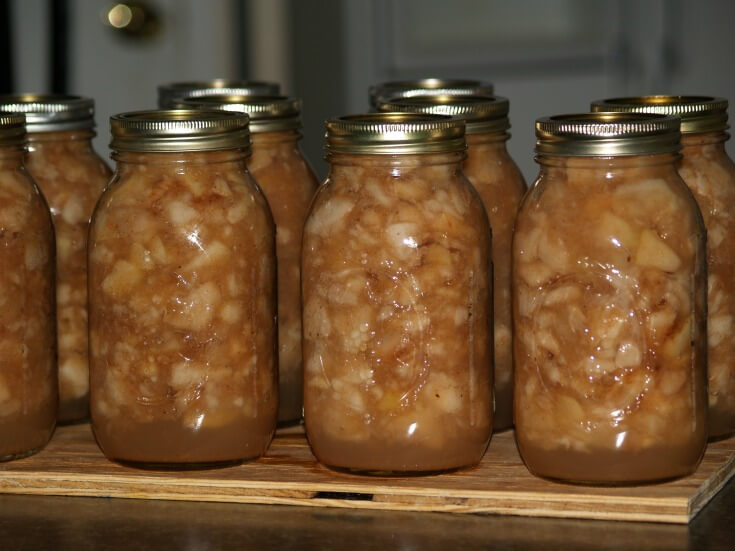 Chunky Oven Applesauce Canned