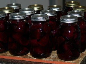 Canning Beets