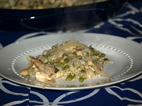 Cashew Chicken Rice Recipe