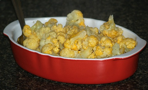 Cauliflower and Cheese Recipe