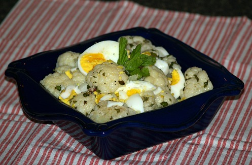 How to Make Cauliflower Salad Recipe with Mint