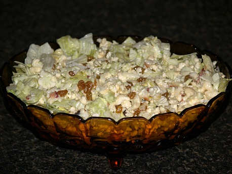 How to Make Cauliflower Salad Recipe with Bacon
