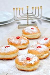 sufganiyot or jelly donut recipe