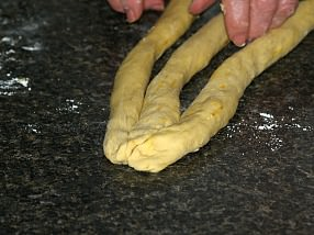 Challah Bread Step 2