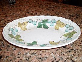pretty serving plate