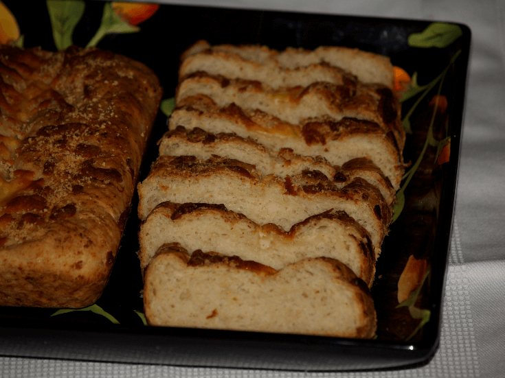 Sliced Cheese Bread Recipe